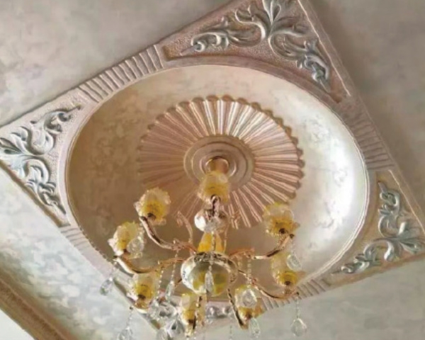 石膏装饰天花板样式