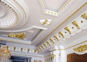 石膏装饰制品厂家讲述石膏装饰制品的性能